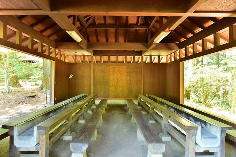 須砂渡キャンプ場BBQハウス