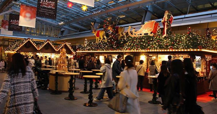 六本木でドイツのクリスマスマーケットをエンジョイ‼