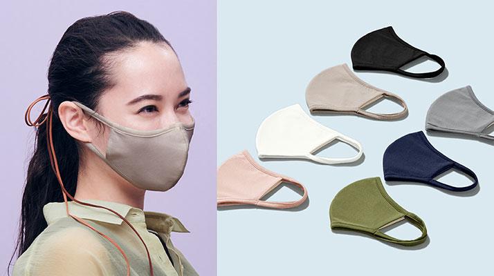 高機能フィルター入り、機能性も兼ね備えたファッションマスク!!