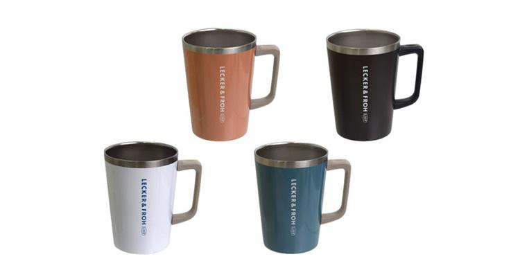 コンビニコーヒーをカップごと保温&保冷!ハンドル付きサーモタンブラー!!