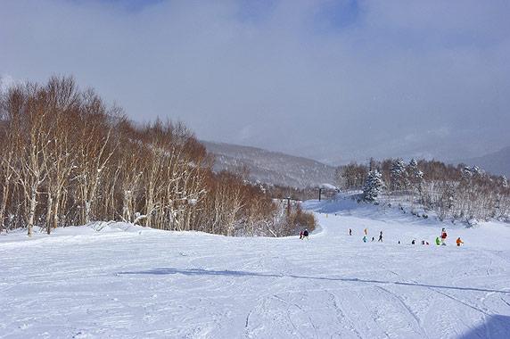 志賀高原中央エリア 一の瀬山の神スキー場