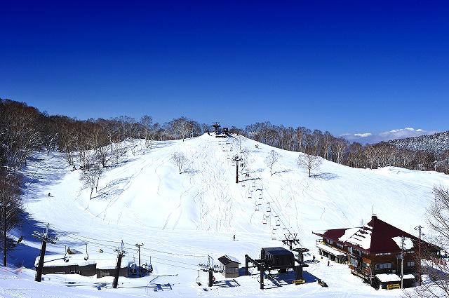 志賀高原中央エリア 丸池スキー場