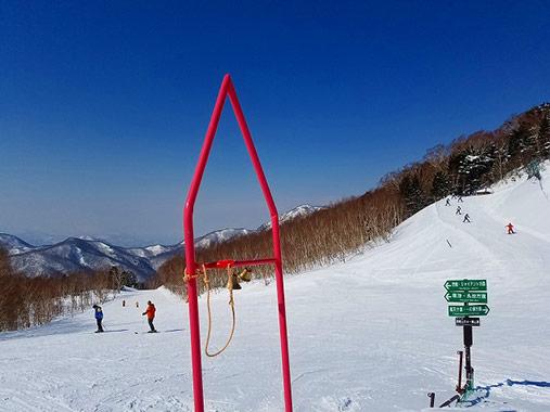 志賀高原中央エリア 西館山スキー場